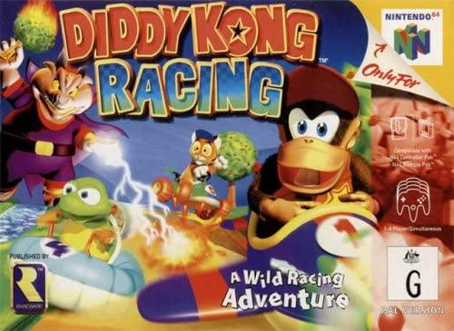 Best N64 Games - Diddy Kong Racing