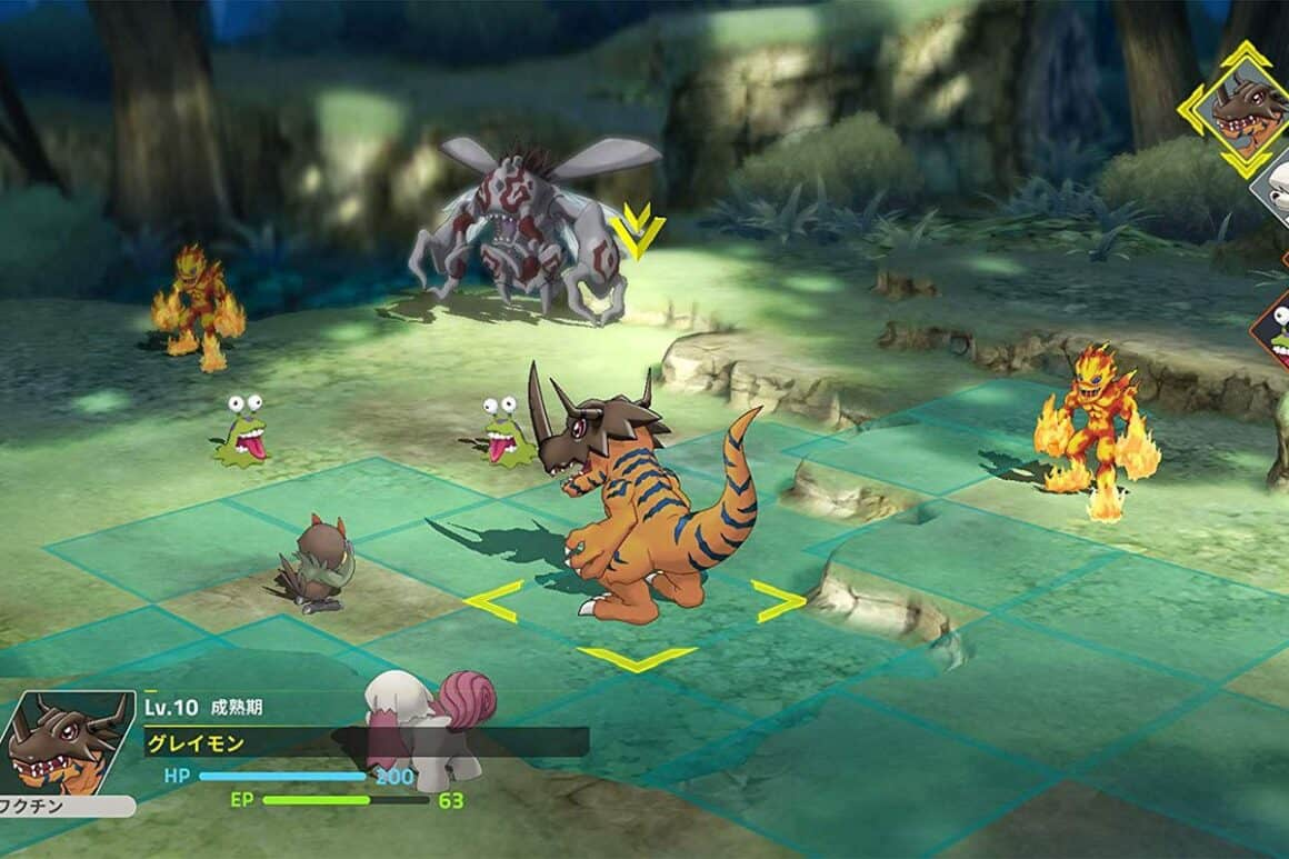 RPG Battle mode in Digimon Survive