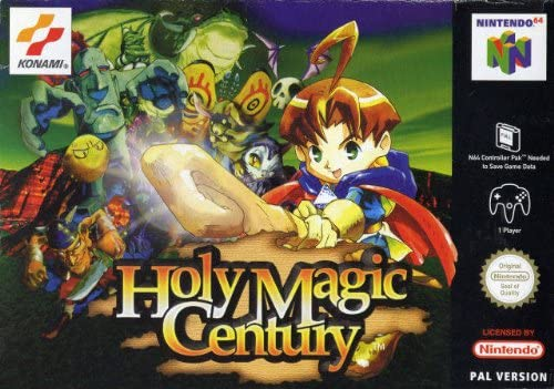 Best N64 Games - Holy Magic Century/Quest 64