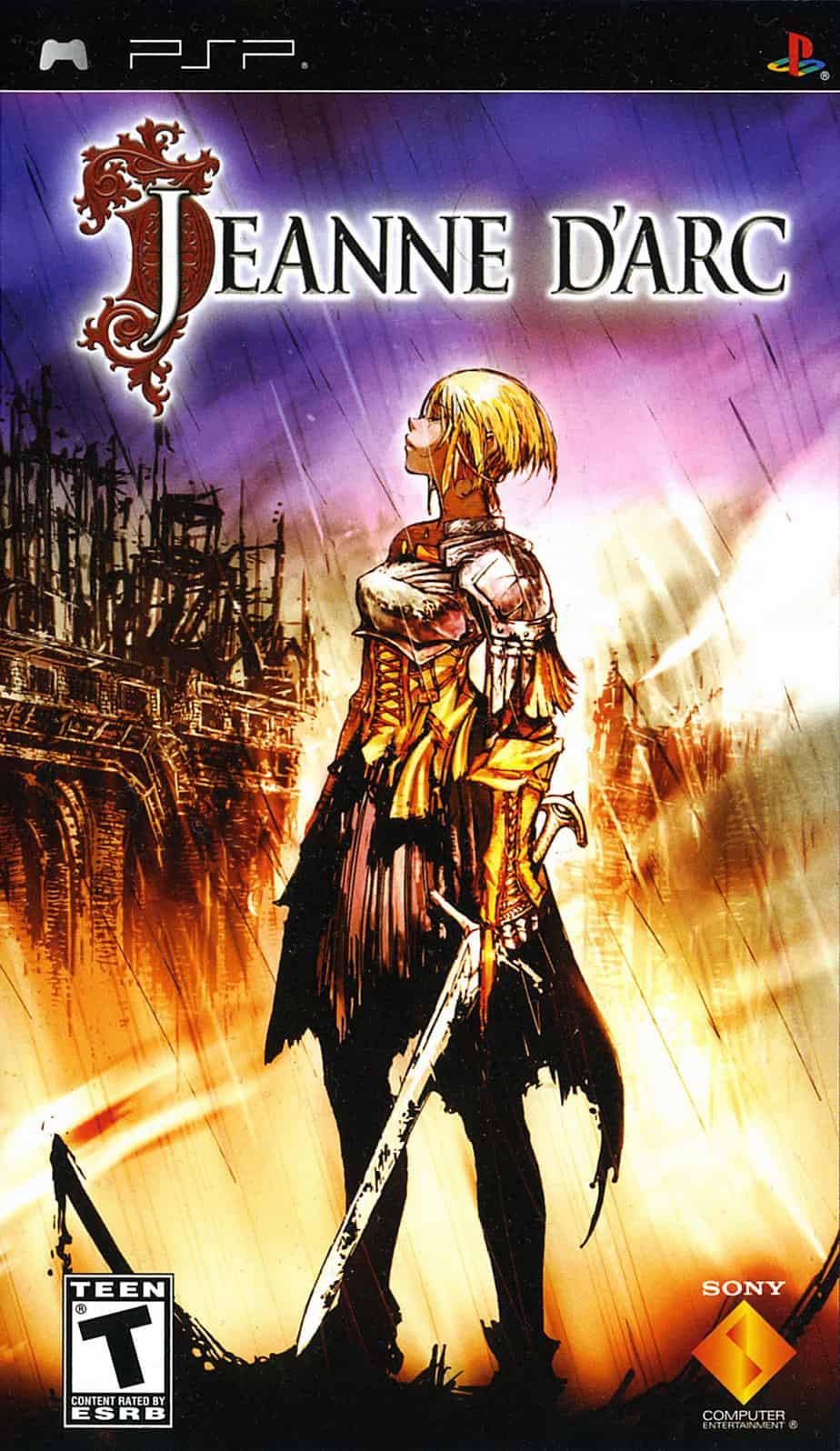 Best PSP RPGs - Jeanne D'Arc
