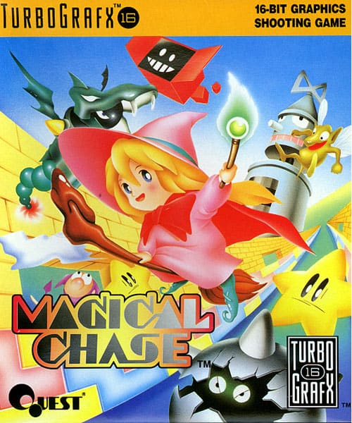 Best PC Engine games - Magical Chase