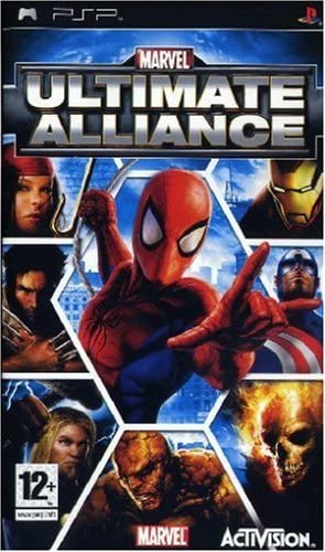 Best PSP RPGs - Marvel: Ultimate alliance