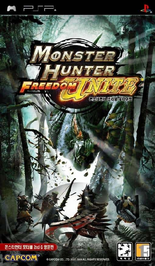 Best PSP RPGs - Monster Hunter Freedom Unite