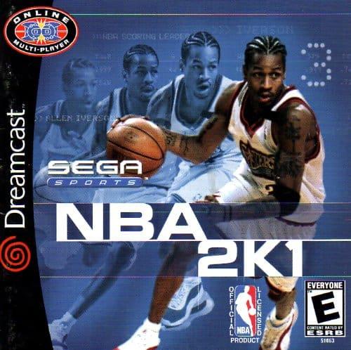 Best Dreamcast Games - NBA 2K1