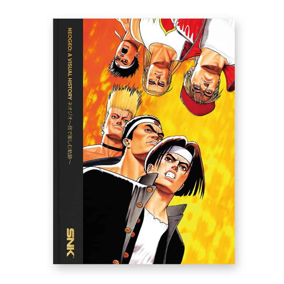 Best Gaming Books - NEO GEO: A Visual History - Bitmap Books