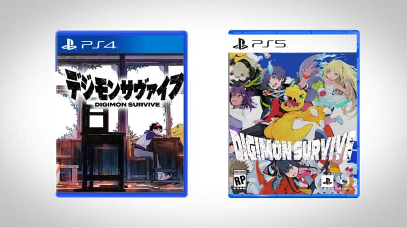New Digimon Game - Digimon Survive Game Case For PS4 & PS5