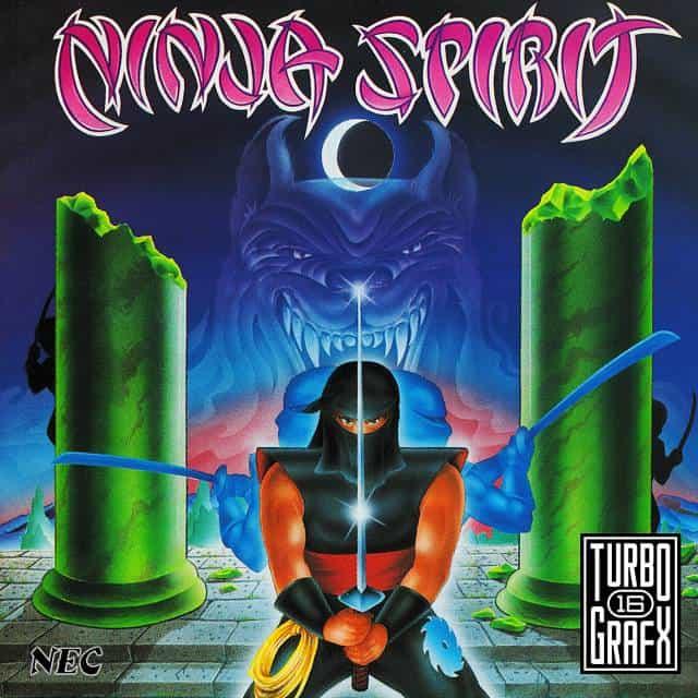 Best PC Engine games - Ninja Spirit
