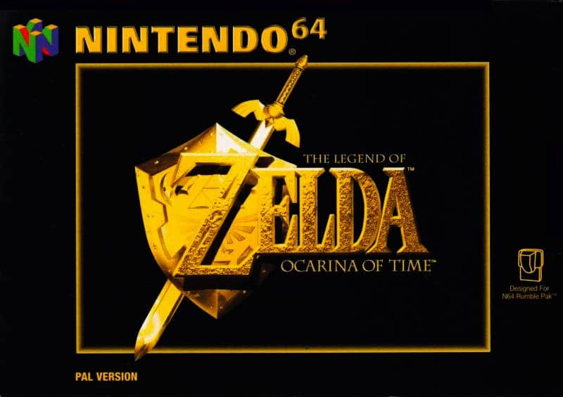 Best 90s Games - Ocarina Of Time N64