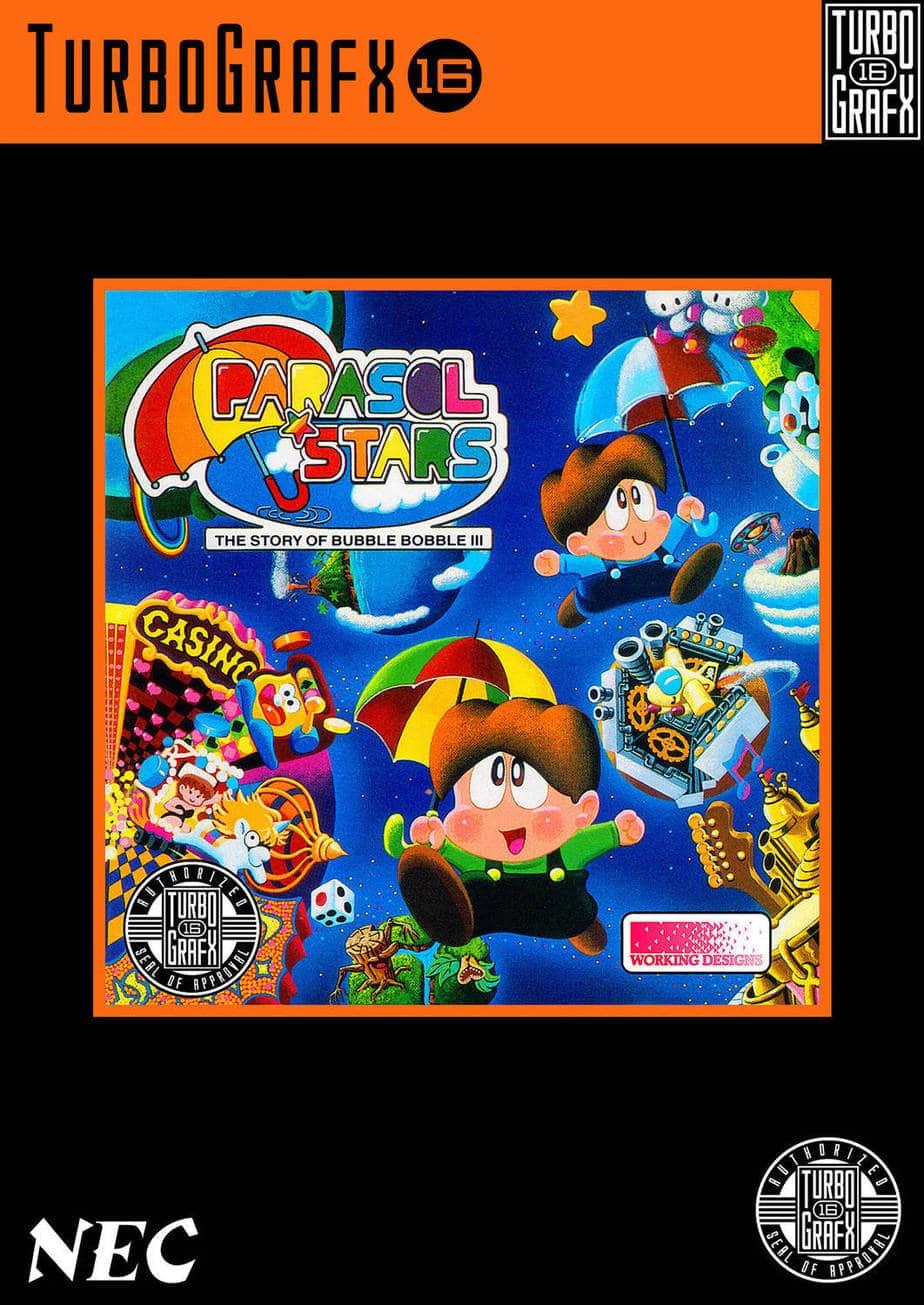 Best PC Engine games - Parasol Stars
