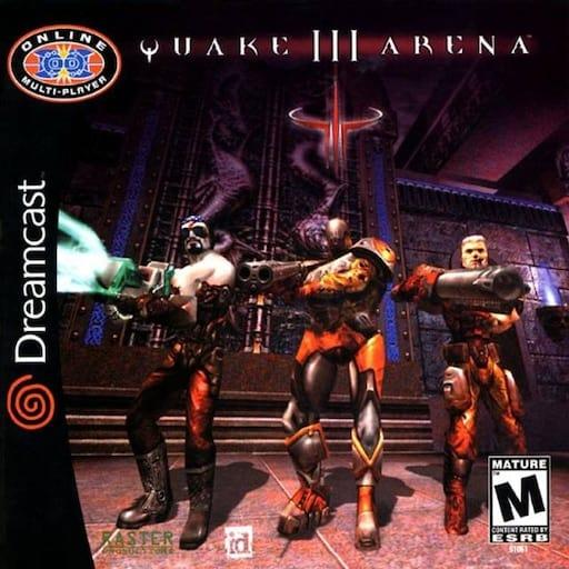 Best Dreamcast Games - Quake III Arena