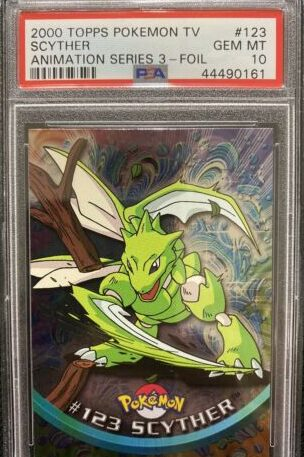 Scyther Collectors Card