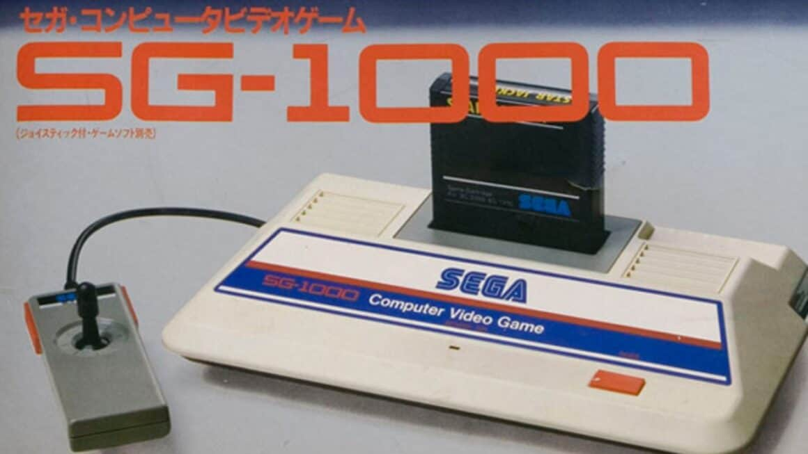 Sega SG1000 Mini console - box art
