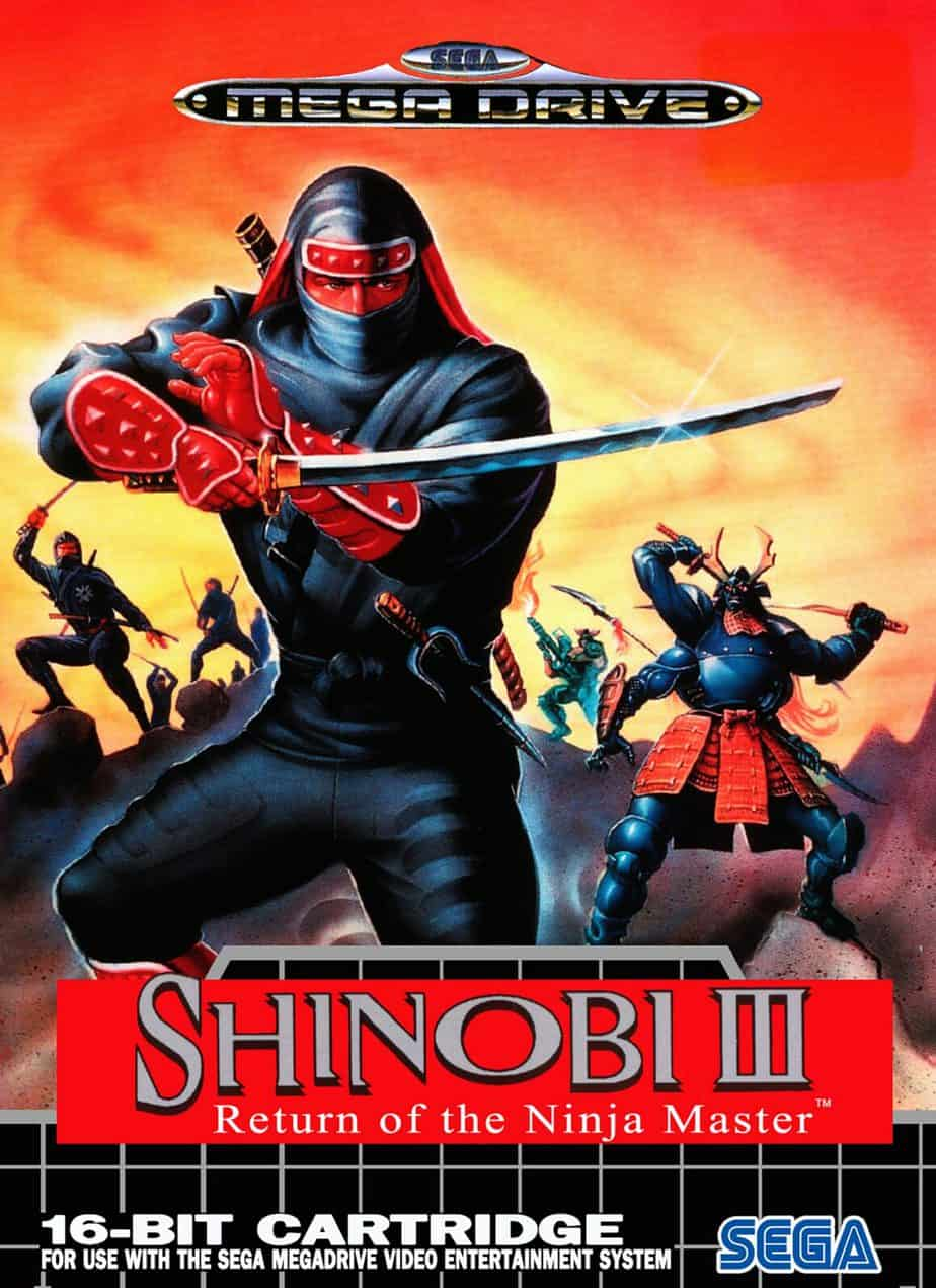Best Sega Mega Drive Games - Shinobi 3