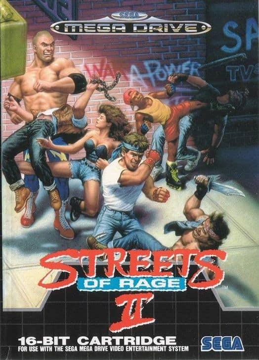 Best Sega Mega Drive Games - Streets of Rage