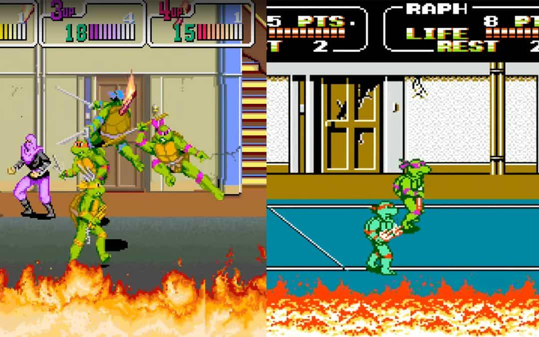 Teenage Mutant Ninja Turtles II: the Arcade Gameplay