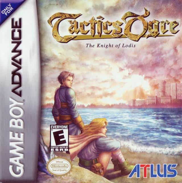 Best GBA Games - Tactics Ogre: The Knight of Lodis Game Case