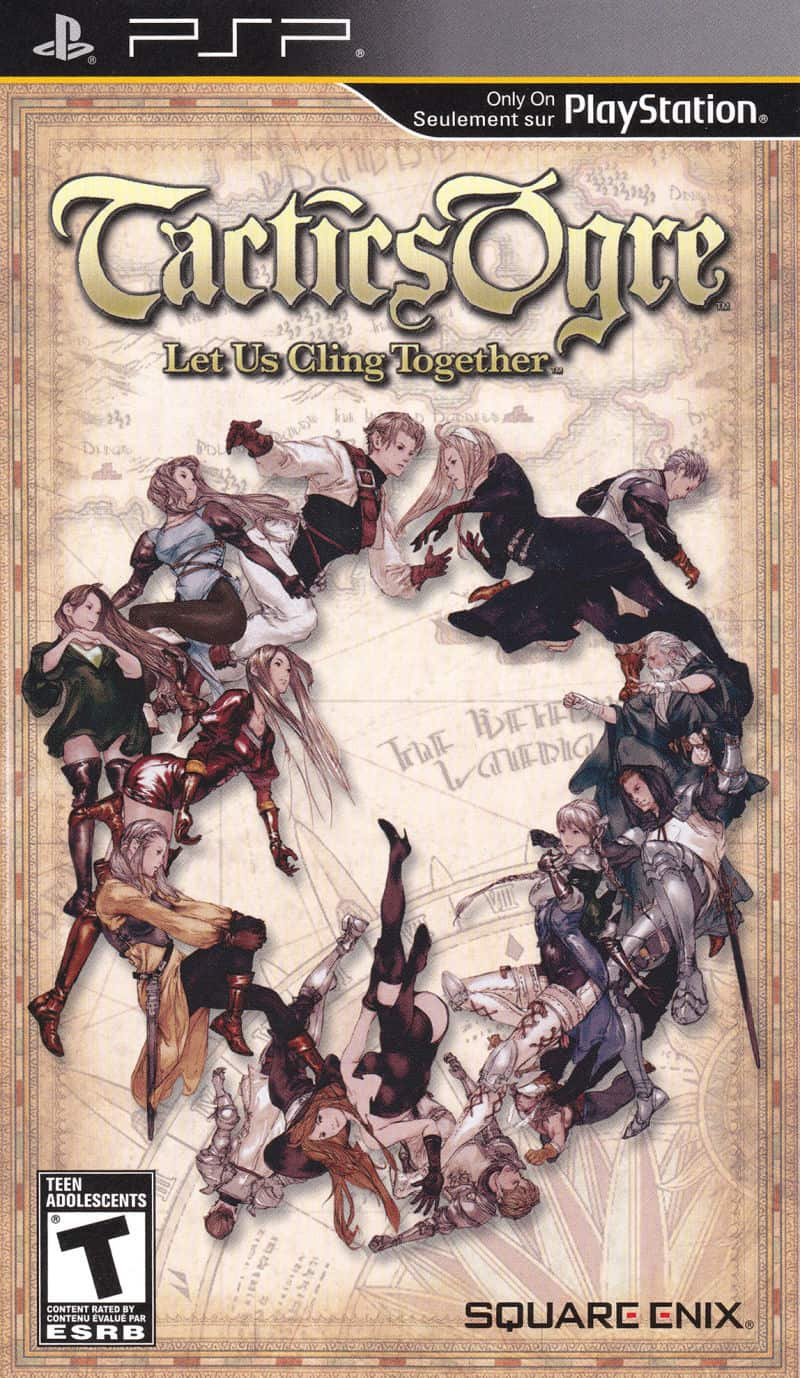 Best PSP RPGs - Tactics Ogre: Let US Cling Together