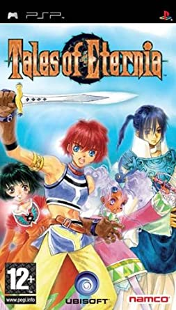Best PSP RPGs - Tales of Eternia