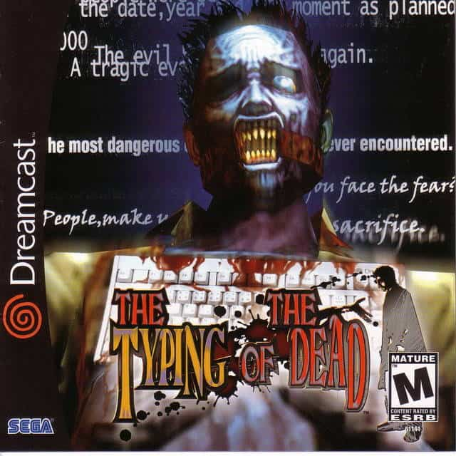Best Dreamcast Games - The Typing Of The Dead