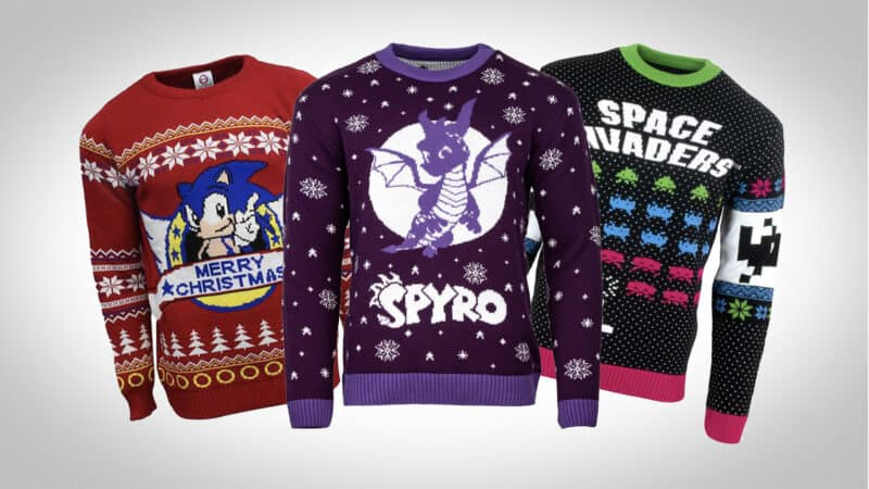 gaming Christmas jumpers