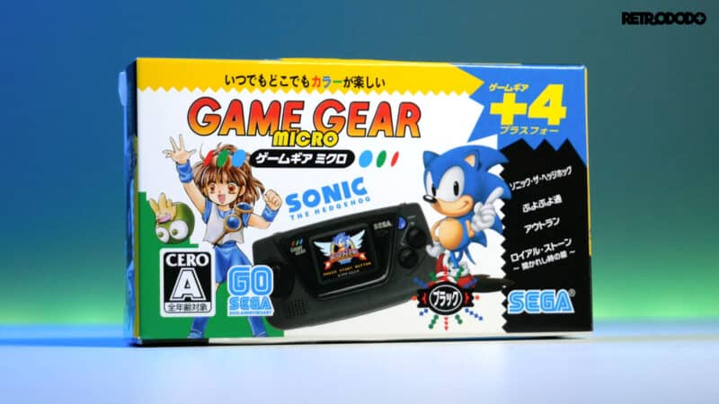 game gear micro box