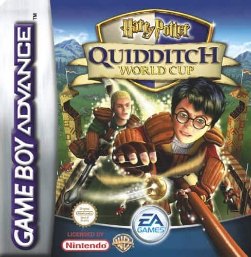 Best Gameboy Advance Games - Harry Potter Quidditch World Cup