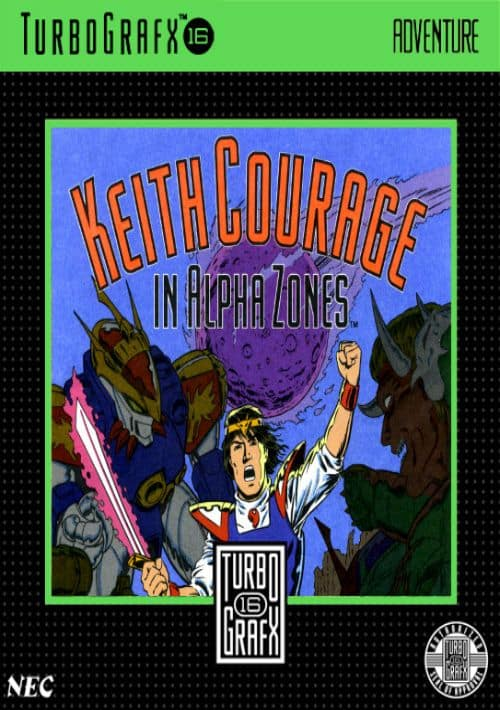 Best PC Engine games - Keith Courage in Alpha Zones