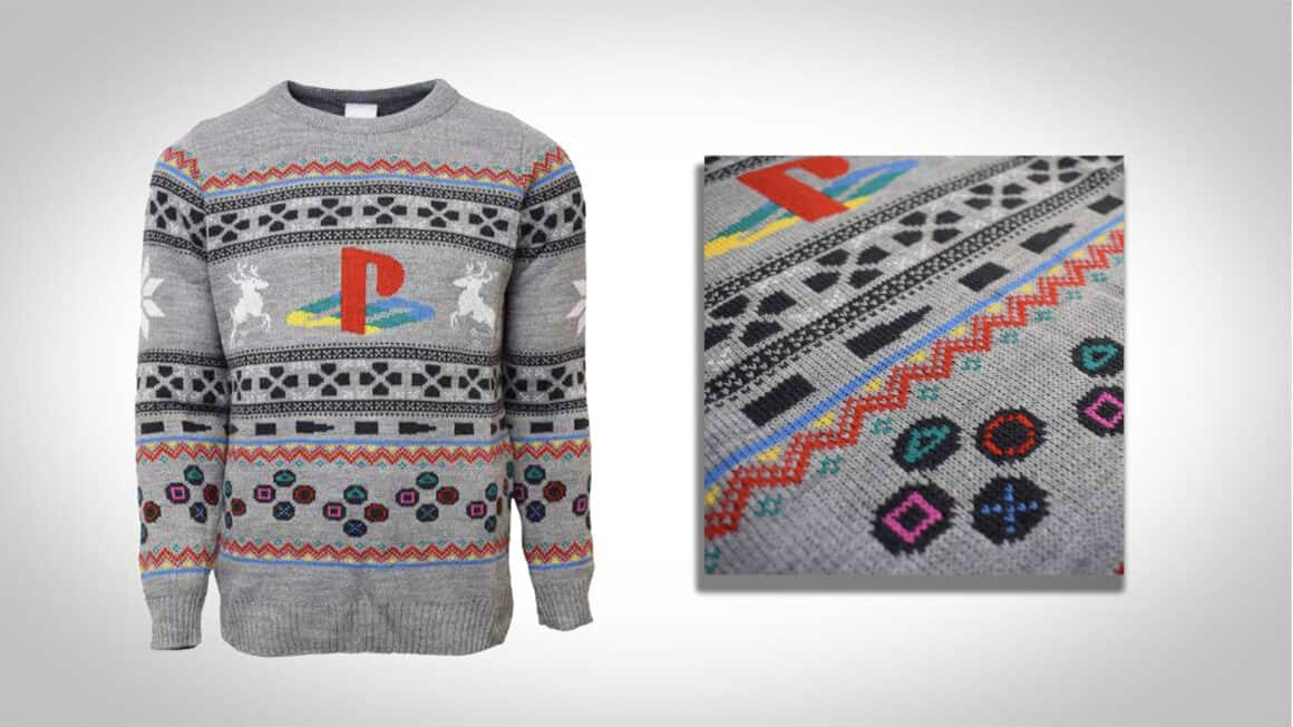 playstation christmas gaming jumpers