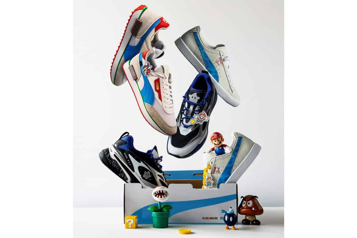 super mario 3d all stars puma shoes