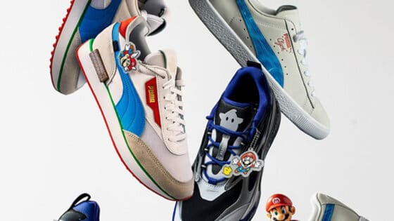 super mario all stars shoes