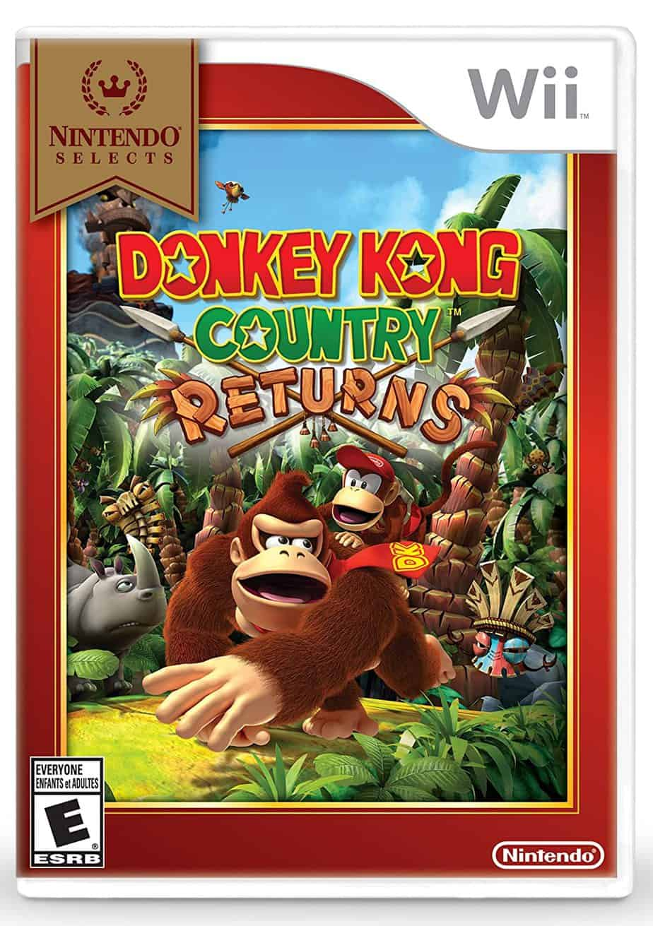 Best Nintendo Wii Games - Donkey Kong Country Returns