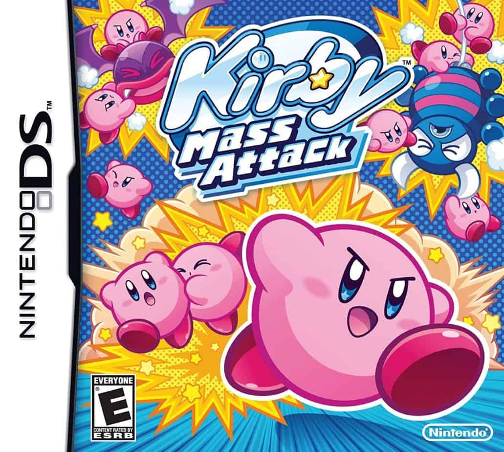 Best Nintendo DS Games - Kirby Mass Attack