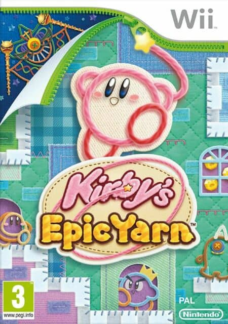 Best Nintendo Wii Games - Kirby's Epic Yarn