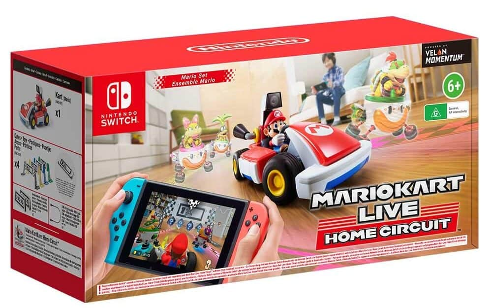 Best Mario multiplayer games - Mario Kart Live Home Circuit