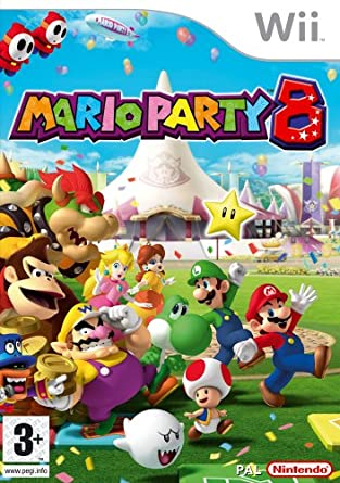 Best Nintendo Wii Games - Mario Party 8
