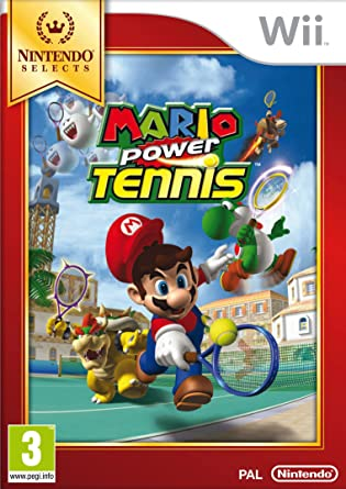 Best Nintendo Wii Games - Mario Power Tennis