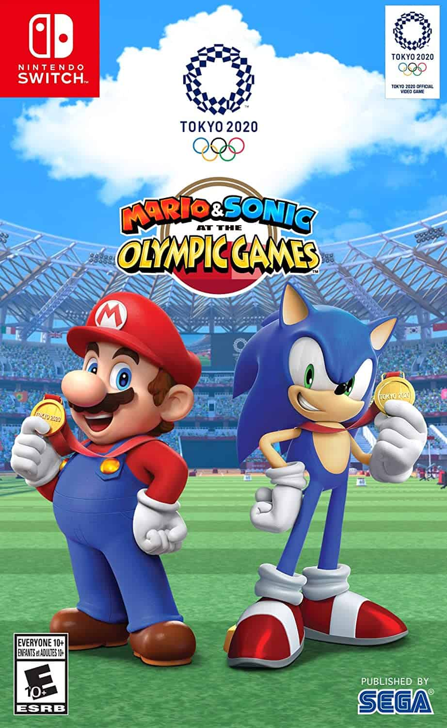 Best Mario multiplayer games - Mario & Sonic at the Olympic Games Tokyo 2020