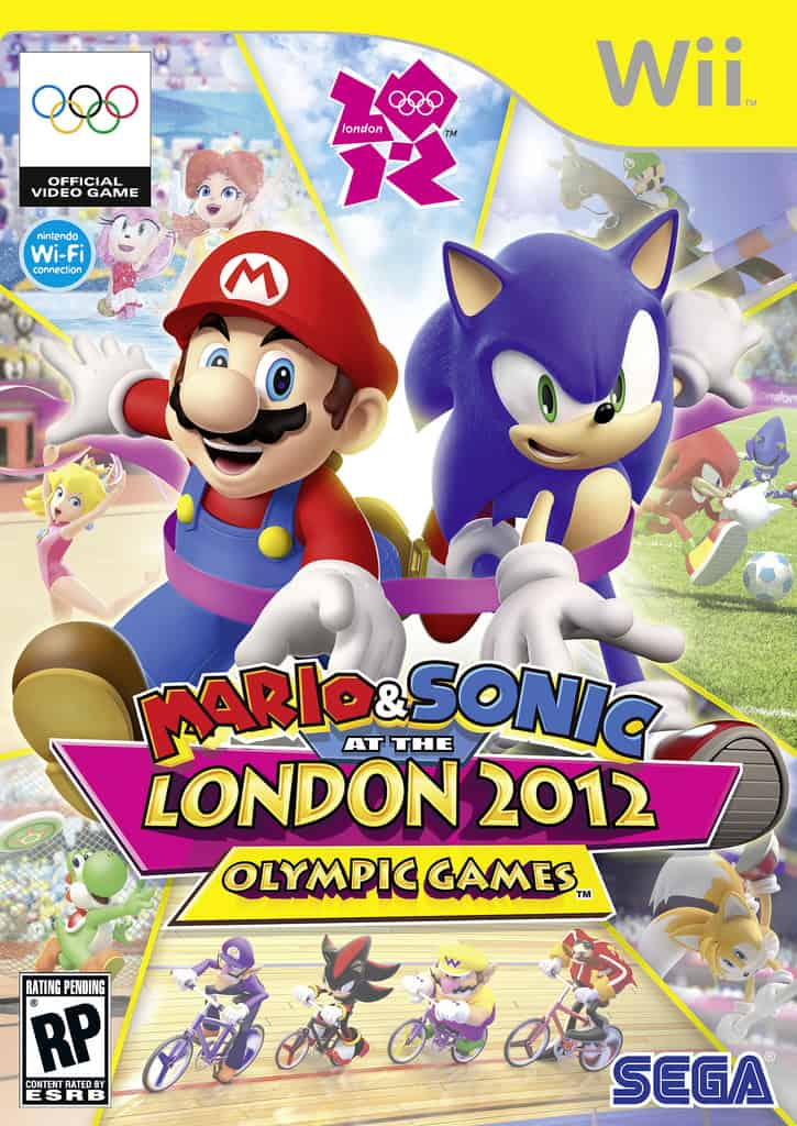 Best Nintendo Wii Games - Mario & Sonic at the Olympic Games London 2012