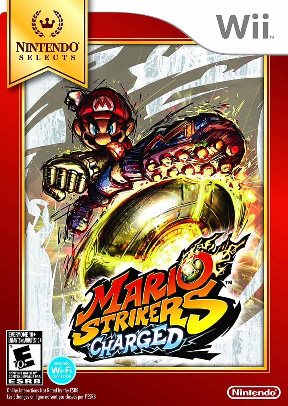 Best Nintendo Wii Games - Mario Strikers Charged
