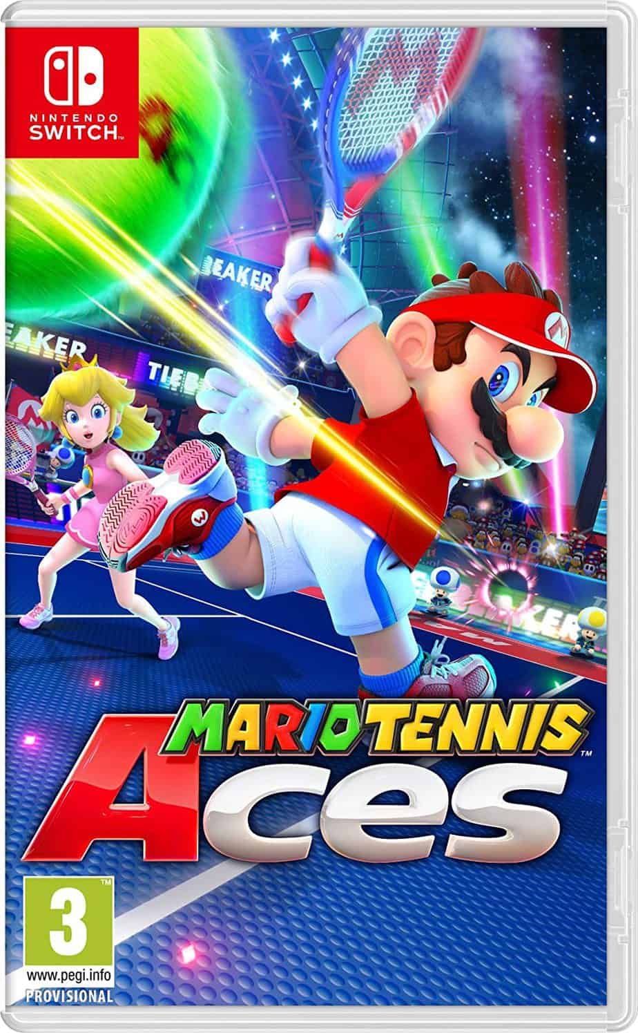 Best Mario multiplayer games - Mario Tennis Aces