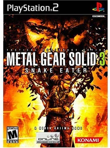 Best PS2 games - Metal Gear Solid: Snake Eater