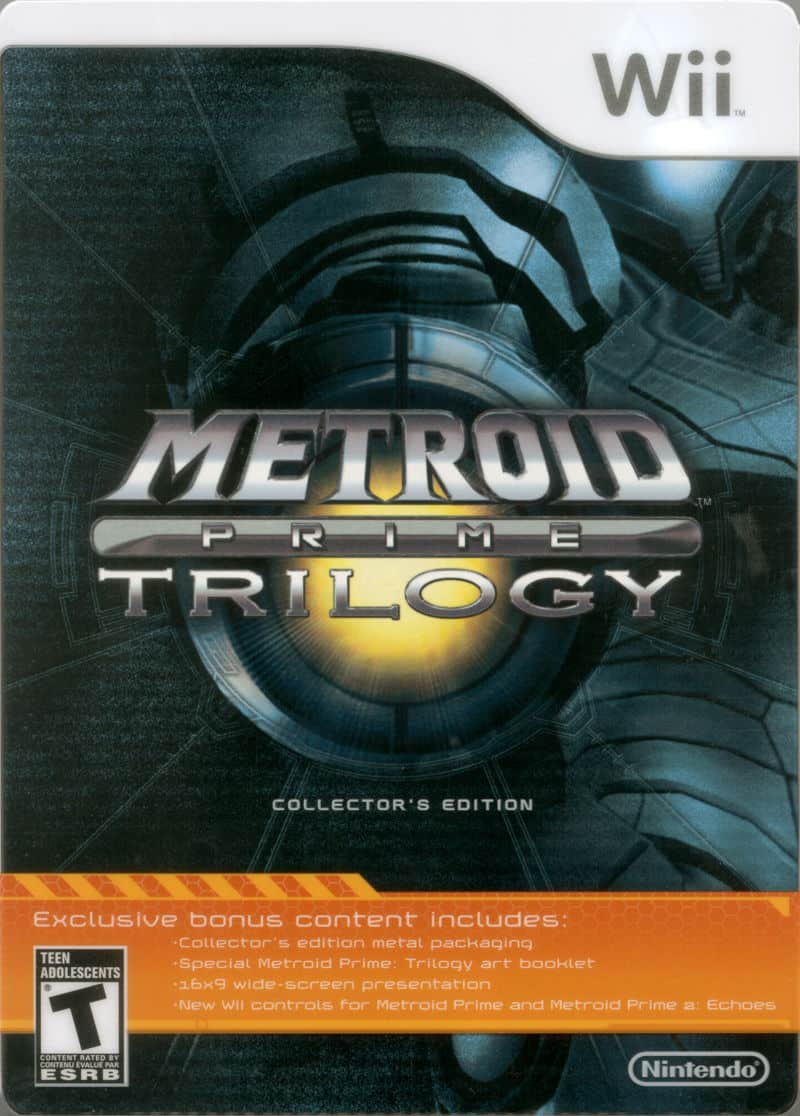 Best Nintendo Wii Games - Metroid Prime Trilogy