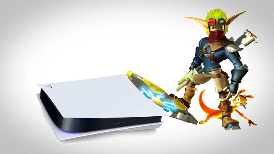 Jak and Daxter with a PS5