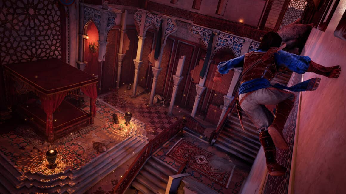 Prince of Persia Remake - wall running action