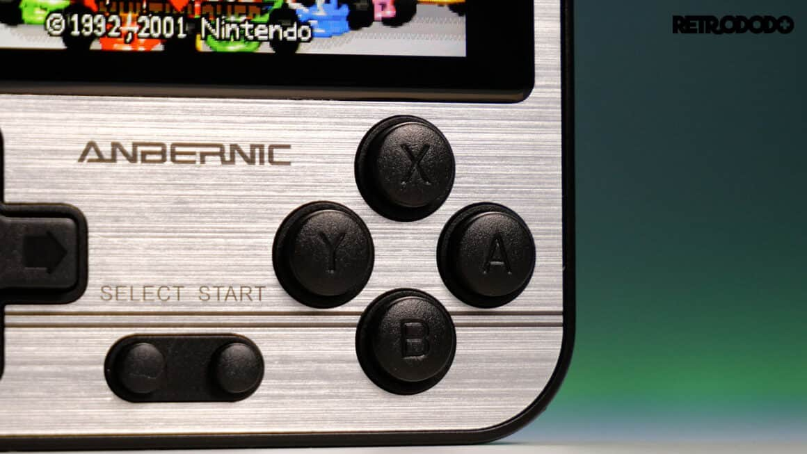 RG280V buttons
