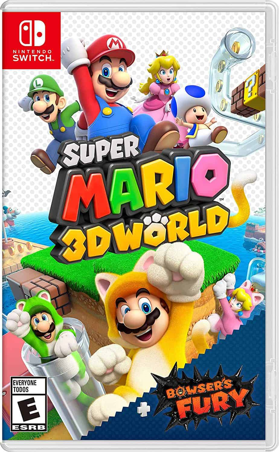 Best Mario multiplayer games - Super Mario 3D World + Bowsers Fury