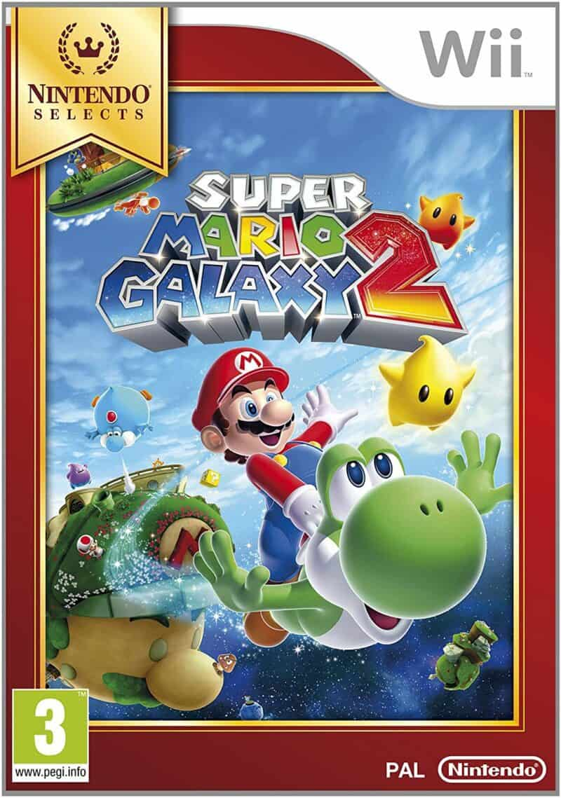 Best Mario Games - Super Mario Galaxy