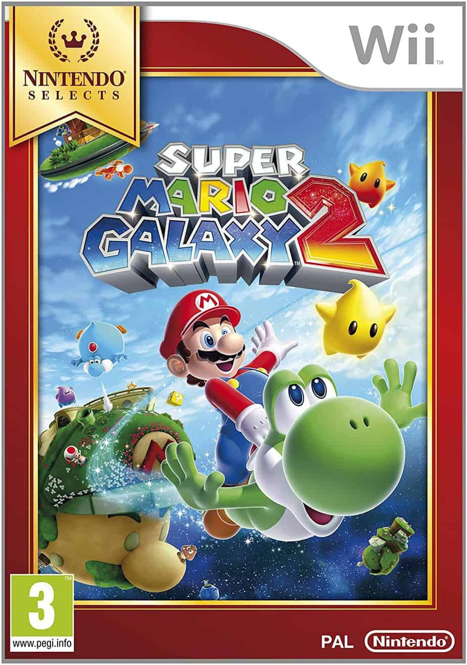 Best Nintendo Wii Games - Super Mario Galaxy 2