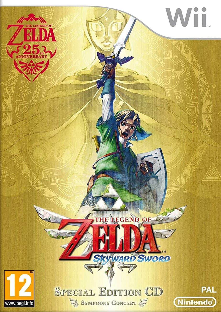 Best Nintendo Wii Games - The Legend Of Zelda: Skyward Sword