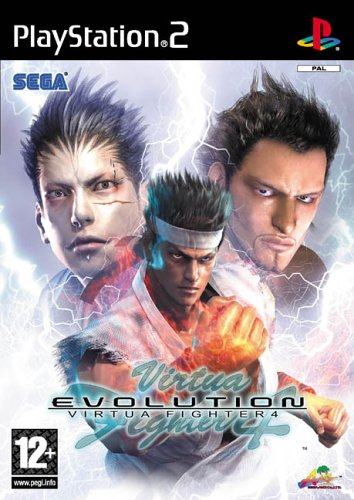 best PS2 games - Virtua Fighter 4: Evolution